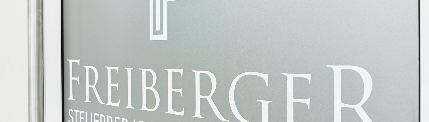 Kanzlei Freiberger Steuerberatung, Eingangstür